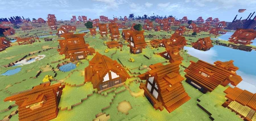 Pure Fantasy World | Fantasy Biomes Addons