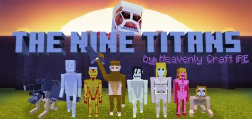 the nine titans attack on titan addon 1