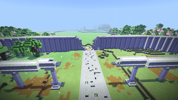 overlord great tomb of nazarick map minecraft pe 11