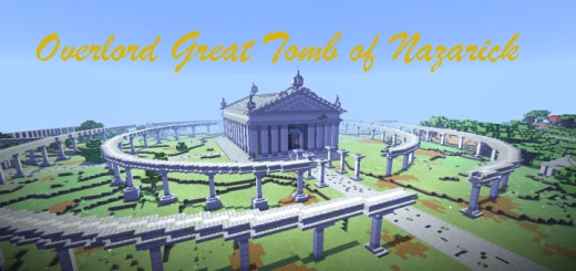overlord great tomb of nazarick map minecraft pe 12