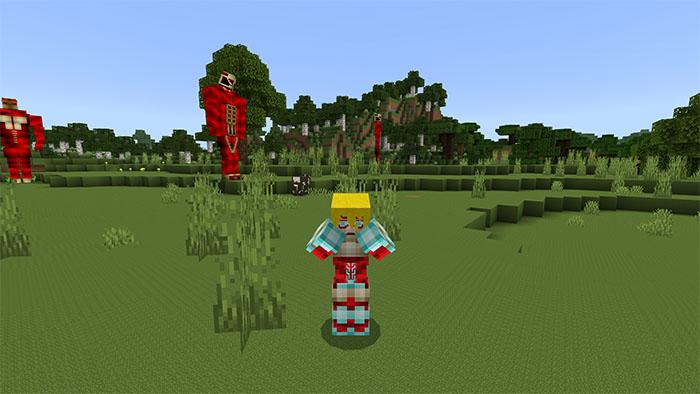 titan craft minecraft addon pe 3