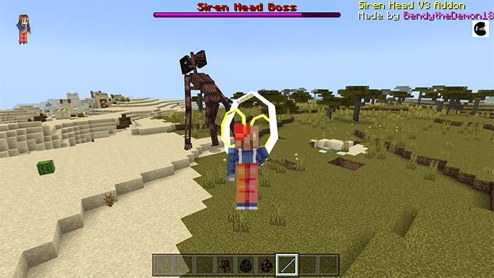 Siren Head Addon V3