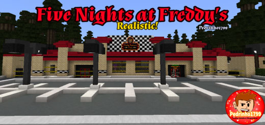 Five Nights At Freddy's Realistic Map