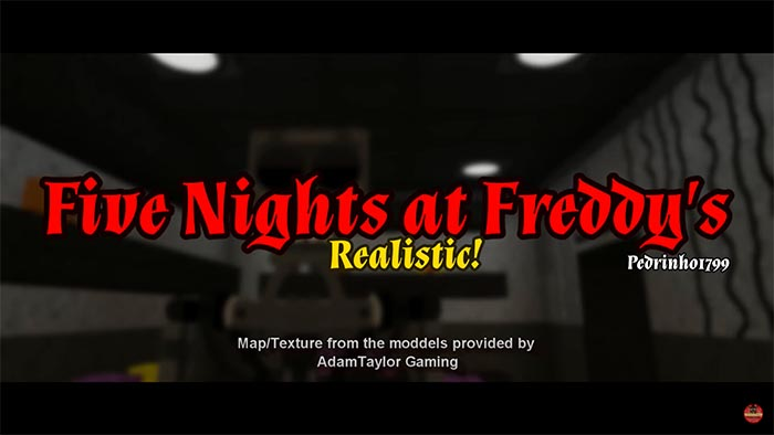 Five Nights At Freddy's Realistic Texture/Map