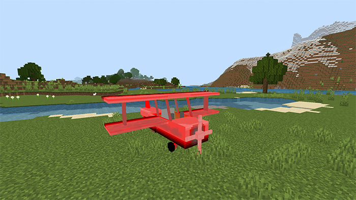 Plane addon verion 5