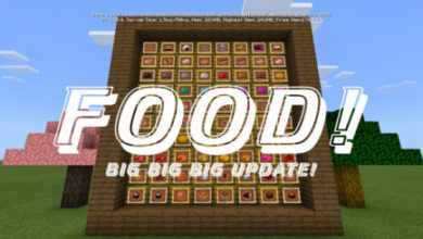 Food Addon Minecraft - MCPE AddOns