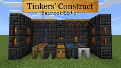 tinkers' construct bedrock edition